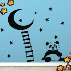 Osito Panda Subiendo a la Luna V2110