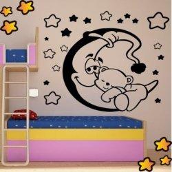 Osito Dormido sobre la Luna V1040