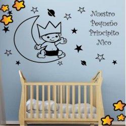 El Bebé Príncipe en la Luna V1013