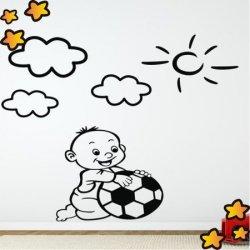 Bebé Jugador de Fútbol V1092