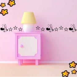 Cenefa Minie Mouse y Estrellas V3751