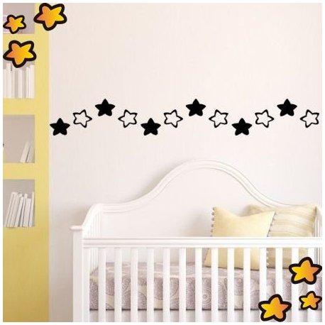 Cenefa infantil estrellas para ni os v3760 for Cenefas para ninos