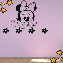 Perchero Minnie Mouse Bebe V3878