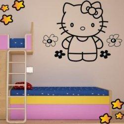 Perchero Hello Kitty y Margaritas V3886