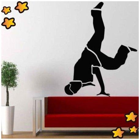 Vinilo chico break dance v8346 for Vinilos juveniles chico