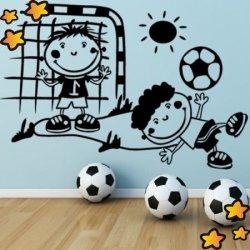 Niños Jugando al Fútbol V3095